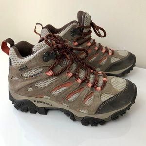 Merrell Shoes - WORN ONCE Merrell Moab Hiking Shoes Size 6